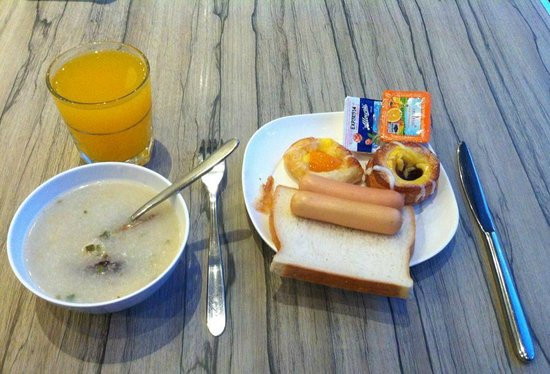 Holiday Inn Express Bangkok Siam : Poor breakfast
