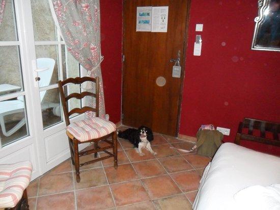 La Bastide du Calalou : chambre