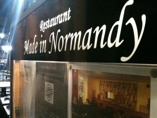 Restaurant Made in Normandy