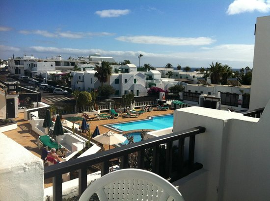 Club Oceano: View from the room during the day