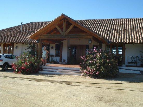Hotel TerraVina: Ingang