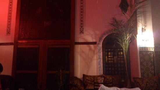 Riad Meski : Patio interior