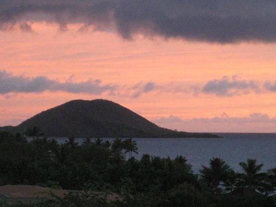 Fairmont Kea Lani, Maui : sunset from our lanai