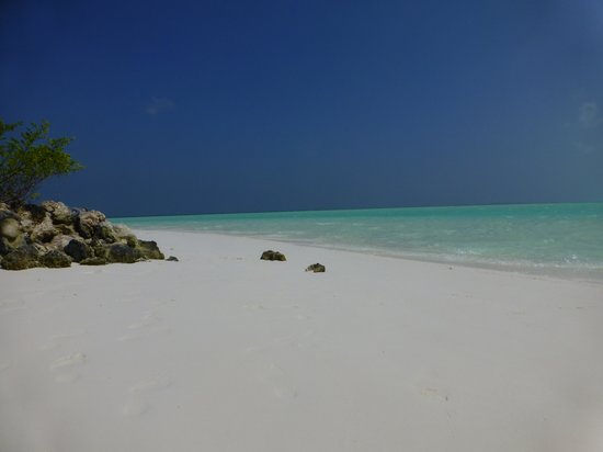 Rihiveli by Castaway Hotels & Escapes: plage côté soleil levant