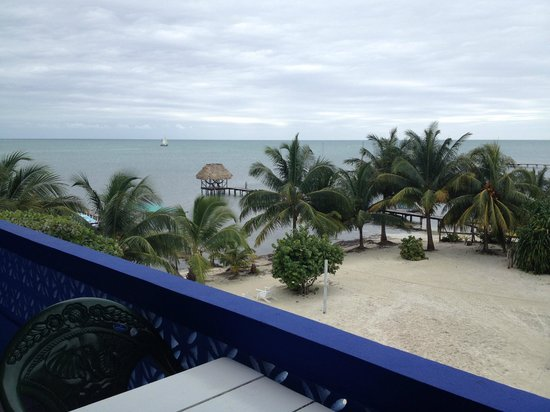Anchorage Beach Resort : Gorgeous balcony view - sunrises, starry nights, and more.