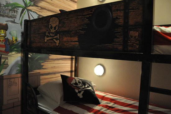 bunk bed with night light  Picture of Legoland Malaysia Resort
