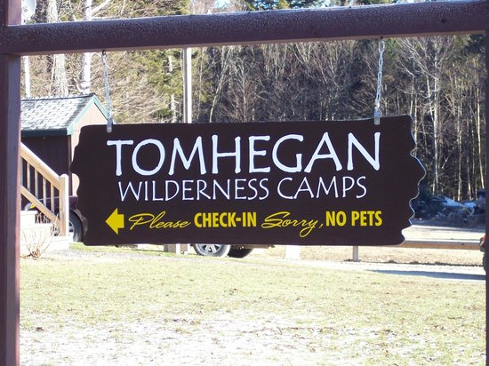 Tomhegan Wilderness Cabins: Guests are Welcome!