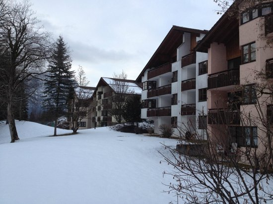 Dorint SportHotel: view on the hotel