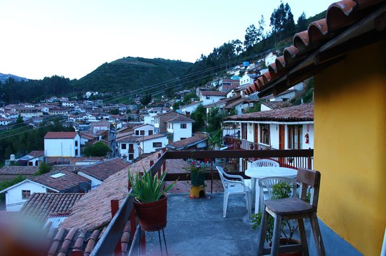 Samay Wasi Youth Hostels Cusco : Terraço