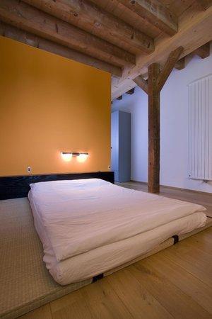 Mervans, France : Een van de 5 gastenkamers met futonbed
