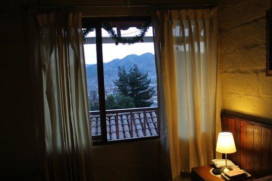 Samay Wasi Youth Hostels Cusco: Vista da cama!!!