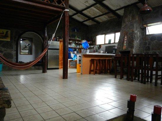 Lava House Hostal : Zona de descanso