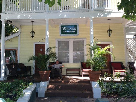 Wicker Guesthouse: Wicker House from Duval Street