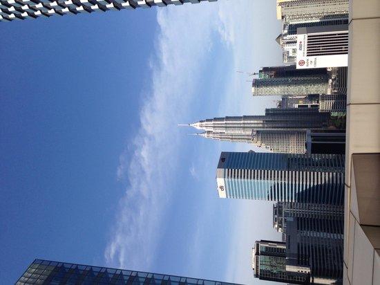 DoubleTree by Hilton Kuala Lumpur: Terrace view