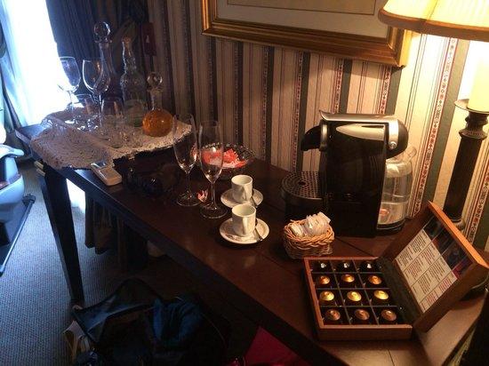 Hotel Casa da Montanha: Máquina nespresso!!!