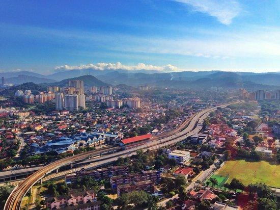 DoubleTree by Hilton Kuala Lumpur: View from executive lounge
