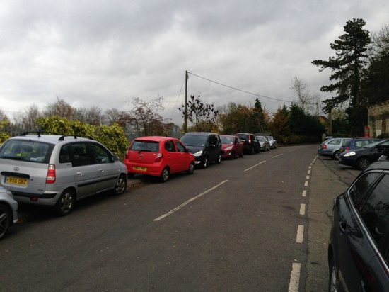 The Walnut Tree Inn: On arrival nowhere to park