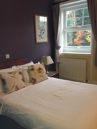 The Walnut Tree Inn: Pretty room could do with clean