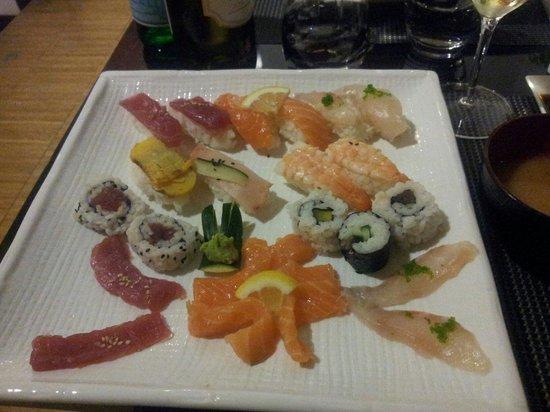 Kaoru: piatto misto solo crudo