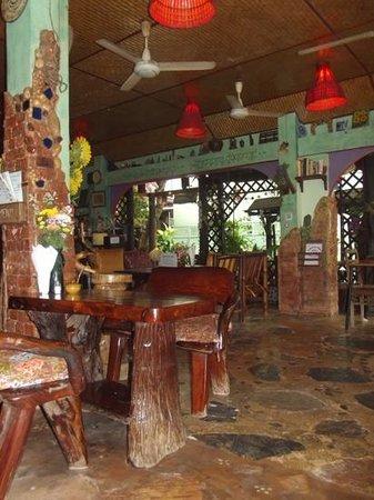 Shanti Lodge: restaurant