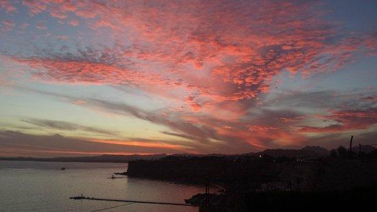 Jaz Fanara Resort & Residence: The most incredible sunset!