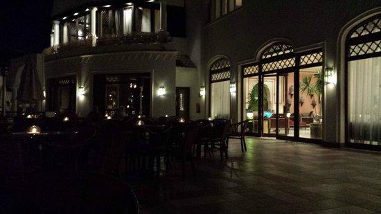 Jaz Fanara Resort & Residence: The terrace area