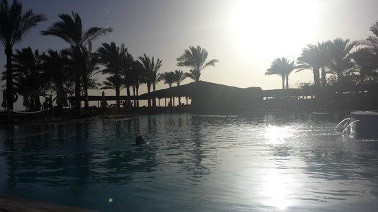 Jaz Fanara Resort & Residence: The Pool area... it was tough!