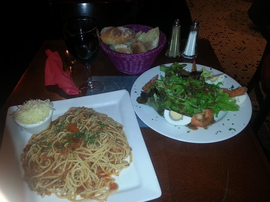 Cafe Chappe: Pasta bolognese