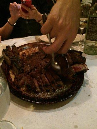 Statler Grill : 2 Porterhouse steaks for two...