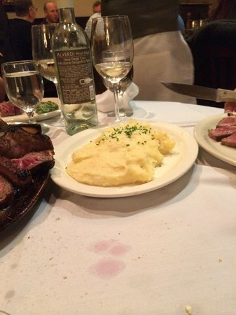 Statler Grill : Mashed potatoes...