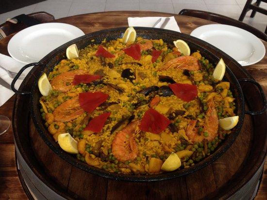 Sidreria El Asturiano : Paella mixta