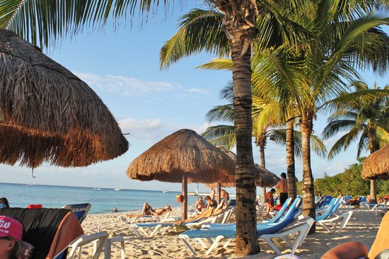 Allegro Cozumel: beach