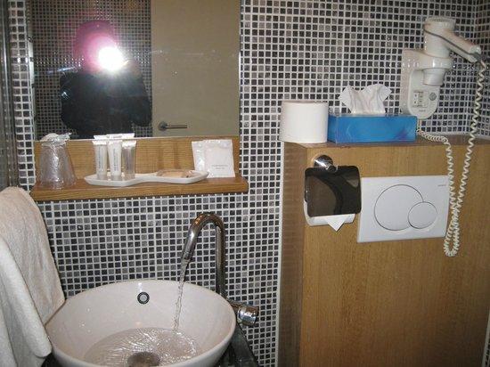 Hotel Carlton: Ванная