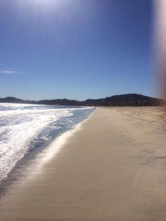 Posada Real Los Cabos: Beach in front of hotel