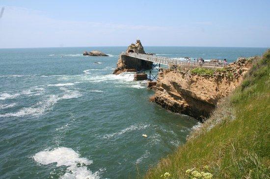 La Côte des Basques : Eine Brücke zum äussersten Zipfel von Biarritz
