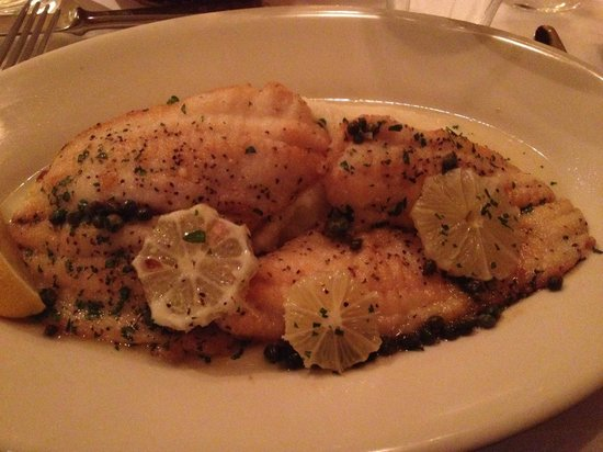 Bistro Jeanty : Sole Meuniere with Heavenly Mashed Potatoes