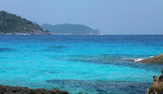 Similan Islands : Azure seas
