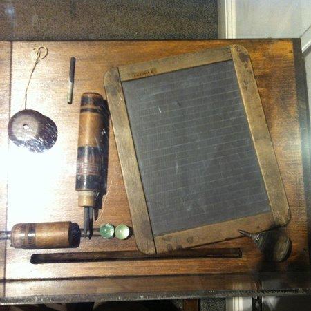 Buckinghamshire County Museum: Your school desk?