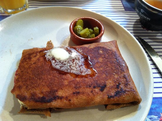 La cr pi re st germain en laye omd men om restauranger - Cours de cuisine saint germain en laye ...