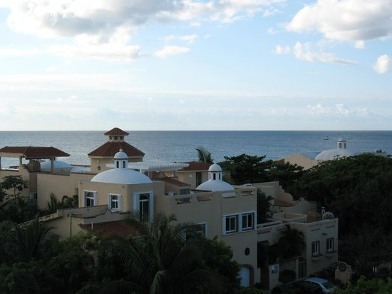 Dreams Puerto Aventuras Resort & Spa : View of the gulf... spectacular!