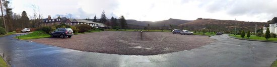 Auchrannie Resort : View from cycle shed