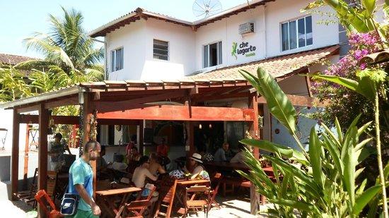 Che Lagarto Hostel Paraty: Comedor