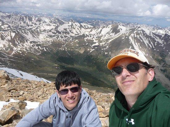 Mount Elbert: Elev 14440'