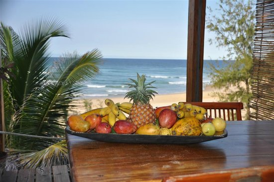 Baia Sonambula Guest House : Frisches Obst!