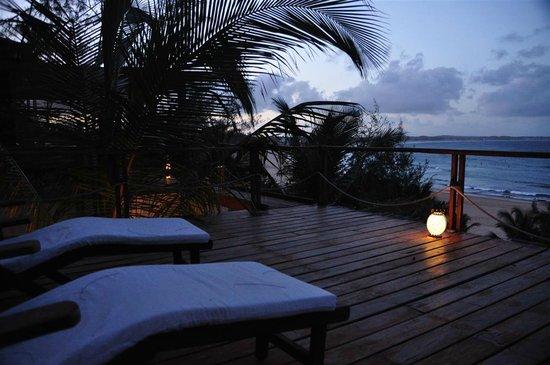 Baia Sonambula Guest House : Sonnen-Terrasse