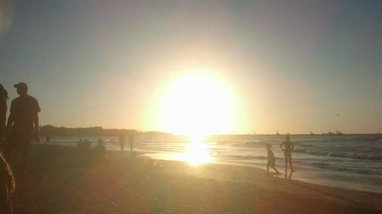 ReFLEXion Yoga Tamarindo : A typical Tamarindo sunset, but this in particular will always remind me of my meditation.