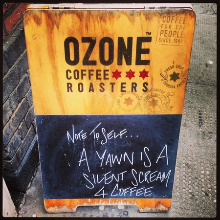Ozone Coffee Roasters: Board