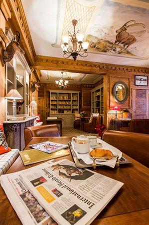 Hôtel Alpen Ruitor : Our Tea Time Corner