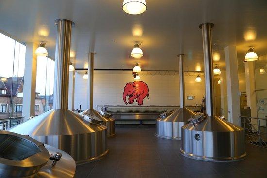 Huyghe Brewery: Tanques de fabricação