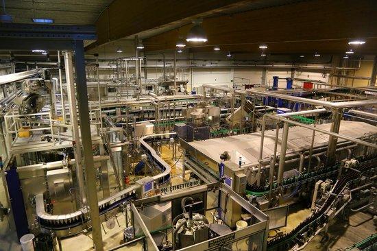 Huyghe Brewery: Vista da fábrica